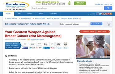 http://articles.mercola.com/sites/articles/archive/2012/03/03/experts-say-avoid-mammograms.aspx