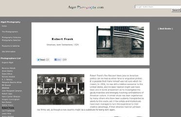 http://www.atgetphotography.com/The-Photographers/Robert-Frank.html