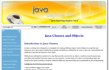 http://www.javabeginner.com/learn-java/java-classes-and-objects