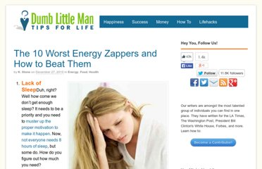 http://www.dumblittleman.com/2008/01/how-to-avoid-10-worst-energy-zappers.html