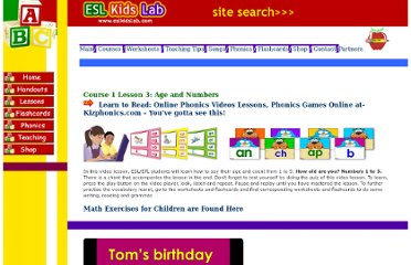 http://www.eslkidslab.com/lessons/course1/videos/3%20birthday/index.html