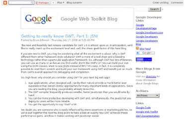 http://googlewebtoolkit.blogspot.com/2008/07/getting-to-really-know-gwt-part-1-jsni.html