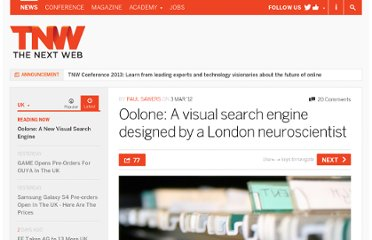 http://thenextweb.com/uk/2012/03/03/oolone-a-visual-search-engine-designed-by-a-london-neuroscientist/