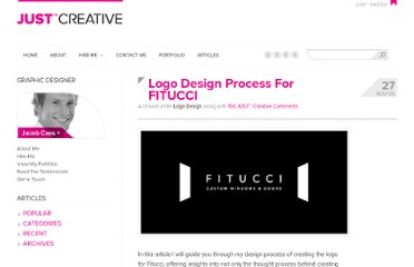 http://justcreative.com/2008/11/27/logo-design-process-fitucci/