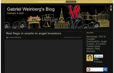 http://www.gabrielweinberg.com/blog/2012/02/red-flags-in-emails-to-angel-investors.html