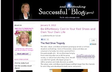 http://www.successful-blog.com/1/be-effortlessly-cool-in-your-red-shoes-and-own-your-own-life/