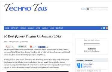 http://technotab.com/10-best-jquery-plugins-of-january-2012/