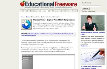 http://www.educational-freeware.com/online/virtual-manipulatives.aspx