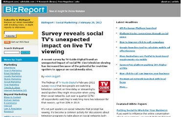 http://www.bizreport.com/2012/02/survey-reveals-social-tvs-unexpected-impact-on-live-tv-viewing.html#