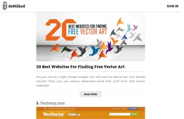 http://www.demilked.com/best-free-vector-graphics-websites/