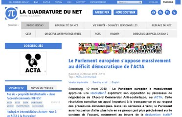http://www.laquadrature.net/fr/le-parlement-europeen-soppose-massivement-au-deficit-democratique-de-lacta