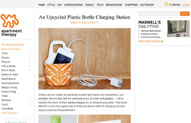 http://www.apartmenttherapy.com/an-upcycled-plastic-bottle-charging-station-make-it-and-love-it-166194