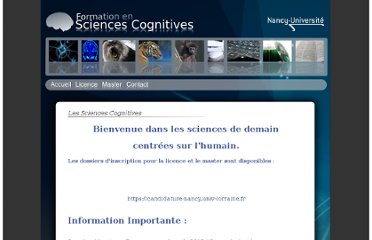 http://www.univ-nancy2.fr/DepScCognitives/index.html