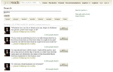 http://www.goodreads.com/search?q=goethe&search%5Bsource%5D=goodreads&search_type=quotes&tab=quotes