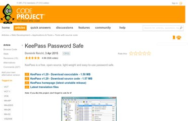 http://www.codeproject.com/Articles/5489/KeePass-Password-Safe