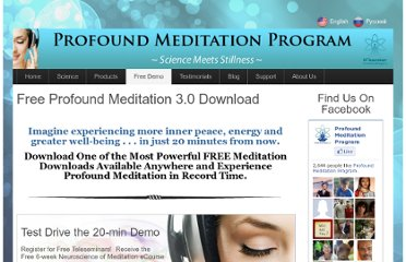 http://www.profoundmeditationprogram.com/free-meditation-downloads