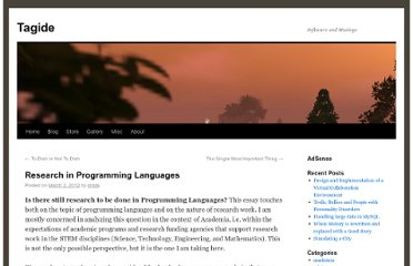 http://tagide.com/blog/2012/03/research-in-programming-languages/