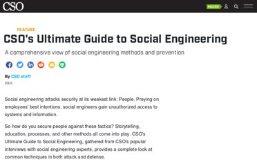 http://www.csoonline.com/article/701042/cso-s-ultimate-guide-to-social-engineering