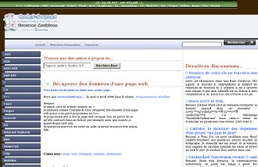 http://groupes.codes-sources.com/article-recuperer-donnees-page-web-338559.aspx