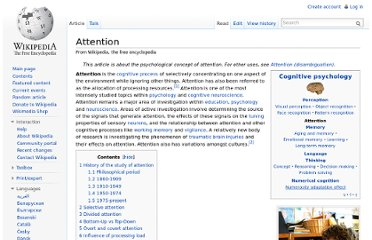 http://en.wikipedia.org/wiki/Attention