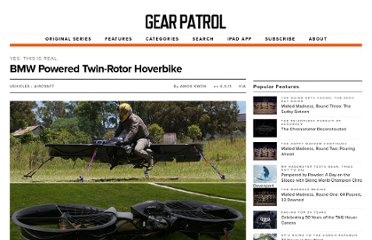 http://gearpatrol.com/2011/06/09/bmw-powered-twin-rotorhoverbike/