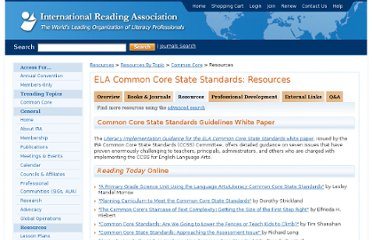 http://www.reading.org/Resources/ResourcesByTopic/CommonCore-resourcetype/CommonCore-rt-resources.aspx