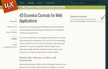 http://www.uxbooth.com/blog/essential-controls-for-web-applications/