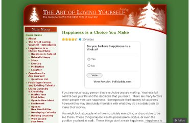 http://lovingyourself.wordpress.com/happiness-is-a-choice-you-make/