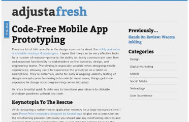 http://www.adjustafresh.com/2012/02/07/mobile-app-prototyping/