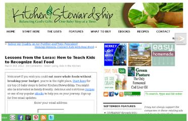 http://www.kitchenstewardship.com/2012/03/03/lessons-from-the-lorax-how-to-teach-kids-to-recognize-real-food/