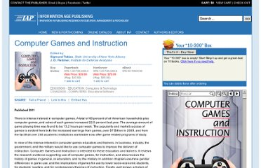http://www.infoagepub.com/products/Computer-Games-and-Instruction