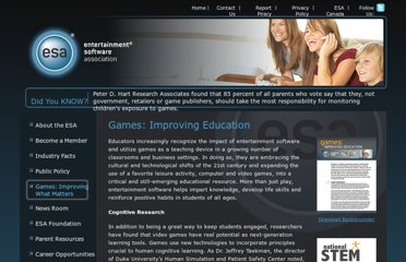 http://www.theesa.com/games-improving-what-matters/education.asp