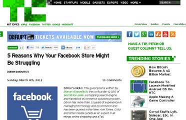 http://techcrunch.com/2012/03/04/5-reasons-why-your-facebook-store-might-be-struggling/