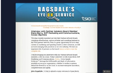 http://jragsdale.wordpress.com/2012/03/01/interview-with-partner-advisory-board-member-diane-berry-svp-marketing-and-communications-coveo-big-data/