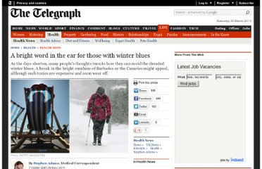 http://www.telegraph.co.uk/health/healthnews/8877185/A-bright-word-in-the-ear-for-those-with-winter-blues.html