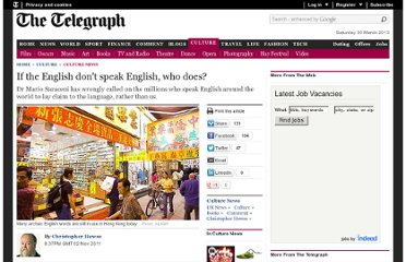 http://www.telegraph.co.uk/culture/culturenews/8865125/If-the-English-dont-speak-English-who-does.html