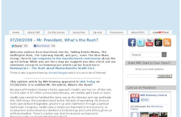http://mittromneycentral.com/op-eds/2009-op-eds/mr-president-whats-the-rush/