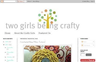 http://twogirlsbeingcrafty.blogspot.com/2011/03/crocheted-rose-pillow-tutorial.html