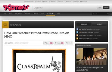 http://www.kotaku.com.au/2012/03/how-one-teacher-turned-sixth-grade-into-an-mmo/