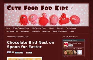 http://www.cutefoodforkids.com/2012/03/chocolate-bird-nest-on-spoon-for-easter.html