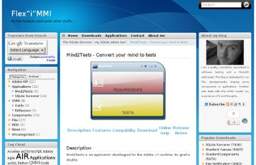 http://afoucal.free.fr/index.php/applications/mind2tests-convert-your-mind-to-tests/#Get