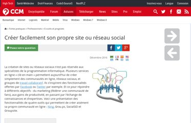 http://www.commentcamarche.net/faq/33721-creer-facilement-son-propre-site-ou-reseau-social
