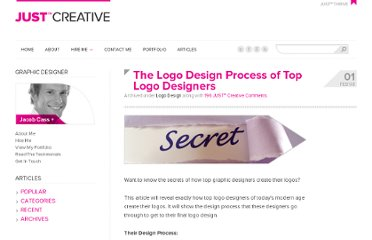 http://justcreative.com/2008/02/01/logo-design-process-of-top-graphic-designers/