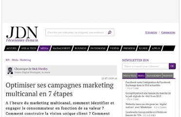http://www.journaldunet.com/ebusiness/expert/47902/optimiser-ses-campagnes-marketing-multicanal-en-7-etapes.shtml