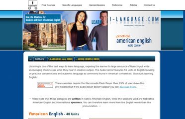http://www.1-language.com/audiocourse/index.htm