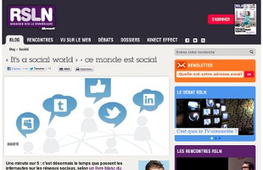 http://www.rslnmag.fr/post/2012/03/05/Its-a-social-world-ce-monde-est-social.aspx