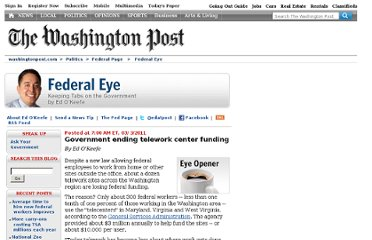 http://voices.washingtonpost.com/federal-eye/2011/03/government_shuttering_telework.html
