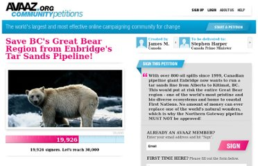 http://www.avaaz.org/en/petition/Stop_Enbridges_Northern_Gateway_pipeline/?whtizcb