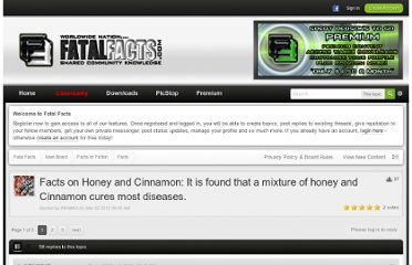 http://fatalfacts.com/index.php?/topic/1308-facts-on-honey-and-cinnamon-it-is-found-that-a-mixture-of-honey-and-cinnamon-cures-most-diseases/