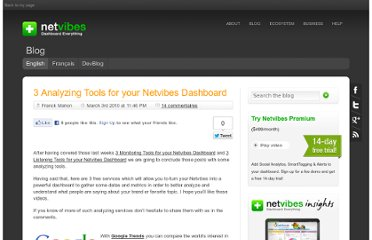 http://blog.netvibes.com/3-analyzing-tools-for-your-netvibes-dashboard/